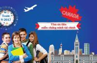 VISA DU HỌC CANADA KHÔNG CẦN CHỨNG MINH TÀI CHÍNH