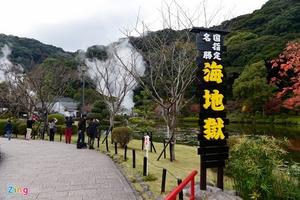 Thiên đường suối khoáng nóng ở Nhật Bản