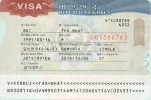 Đảm bảo visa du học Hàn Quốc