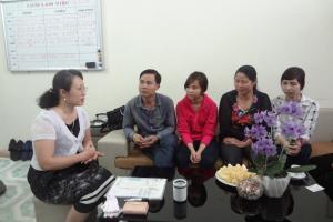 Học viên Subaru về gặp gỡ học sinh và phụ huynh