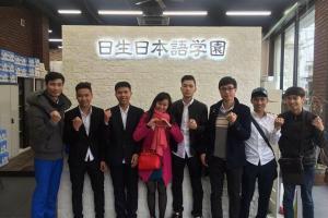 Những ngày đầu tiên của học viên ASAHI nhập học